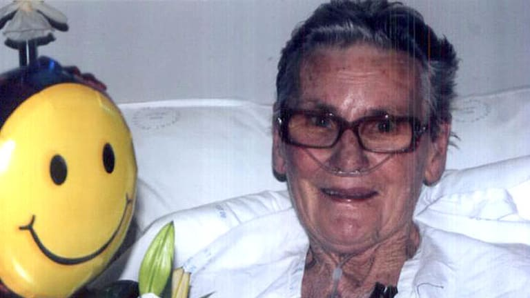 Alma Smith, 73, died at the scene of the fire in Quakers Hill on Friday morning.