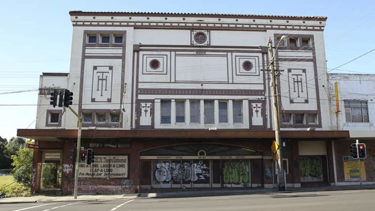 Extremely limited: Strathfield Council does not have the power to restore the disused Midnight Star Theatre on Parramatta Road in Homebush.
