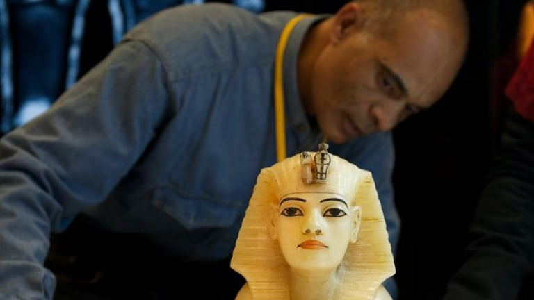 Melbourne Museum's blockbuster exhibition, Tutankhamun and the Golden Age of the Pharaohs, attracted 800,000 visitors from all over Australia.