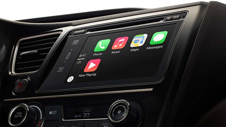 On the go: iOS 7.1 adds support for CarPlay.