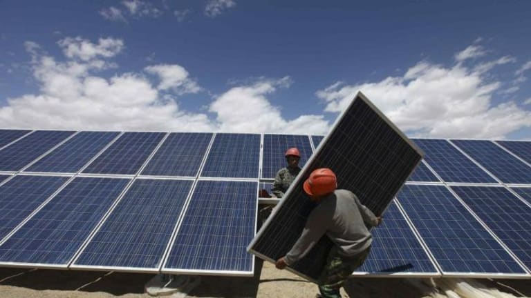 Sky high: complaints about solar installations have risen sharply.