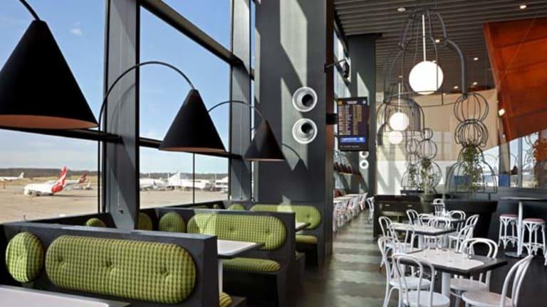 Cafe Vue at Tullamarine airport.