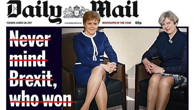 The Daily Mail's headline fail.
