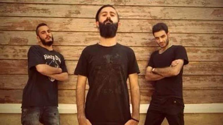 Iranian metal band Confess