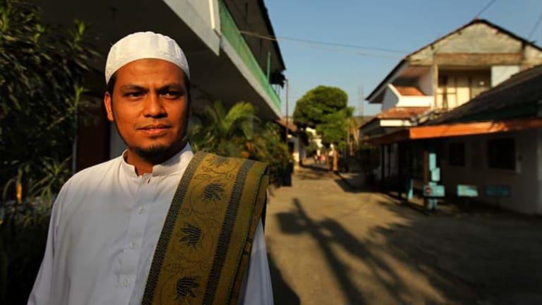 Islamist teaching ... cleric Abdul Rahim, a son of Abdul Bashir, is a teacher at al-Mukmin school.