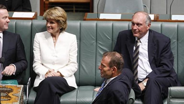 Tony Abbott takes the leader's chair in Parliament this afternoon.