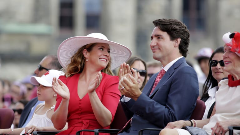 Canada's PM outshone the likes of Jerry Seinfeld on the first day of the Sun Valley conference.