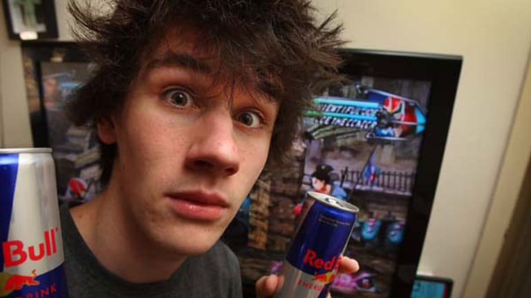 21-year-old late night video games and caffeine enthusiast, Lachlan Sedunary. <i>Picture: Ken Irwin</i>