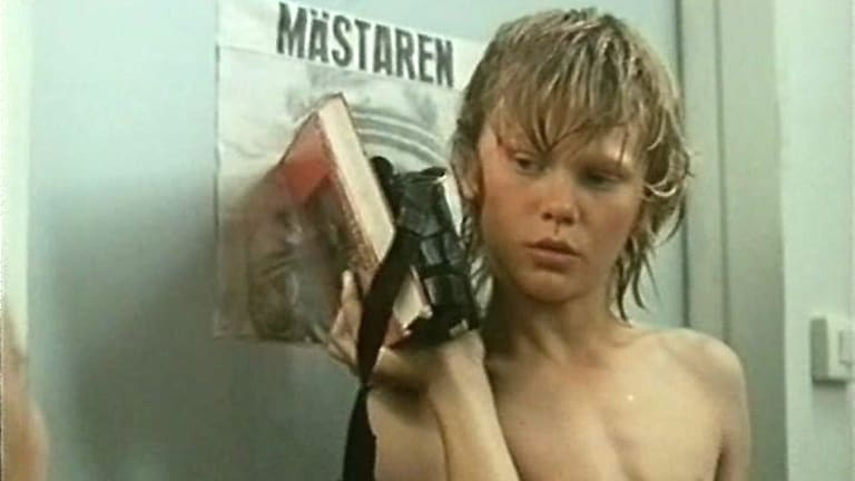 Banned ... <i>Children's Island</i> is a 1980 Swedish drama film directed by Kay Pollak and stars Thomas Fryk.