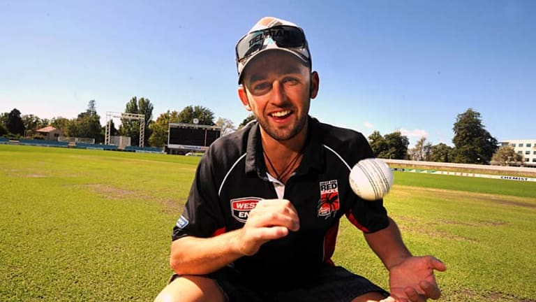 The next Warne? ... spinner Nathan Lyon looms as the 11th spinner used in the Australian team in the post-Shane Warne era.