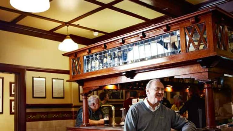 Fortune of War's Bob Keyes refuses to concede the title of oldest pub.