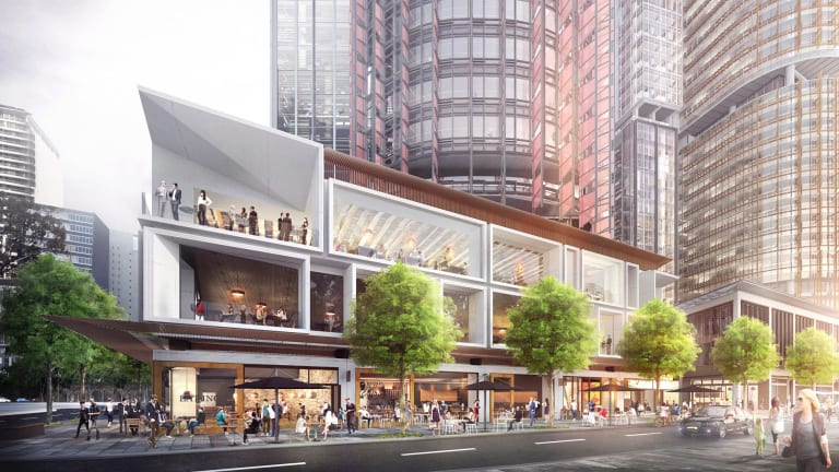 New plans for the public domain at  BarangarooSouth.