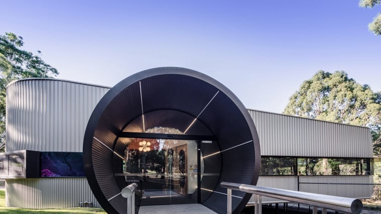 The Monash University's new Biological Science Lab designed by Harmer Architecture.