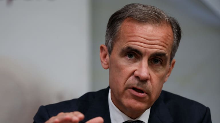 "Mark Carney describes the TCFD recommendations as ""helping minimise the risk that market adjustments to climate change will be incomplete, late and potentially destabilising""."