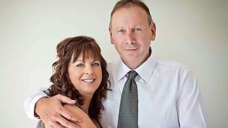 Compensation payout: Helen Wurth, pictured with her husband Ian.
