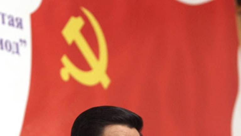 Long way to the top ... Xi Jinping, who is destined to take over the Chinese presidency in 2012, visits Moscow last year.