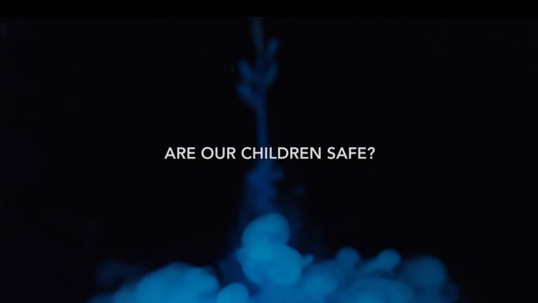 A screenshot of the controversial documentary Vaxxed.