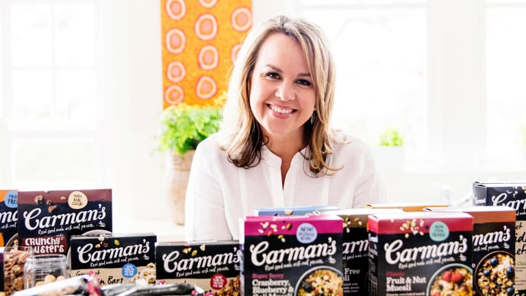 Strategic mindset: Carman's Fine Foods founder and CEO Carolyn Creswell.