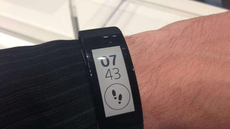 Sony's SmartBand Talk can take and receive calls when connected to an Android phone.