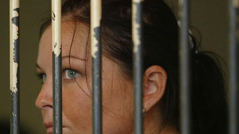 Not coping ... Schapelle Corby.