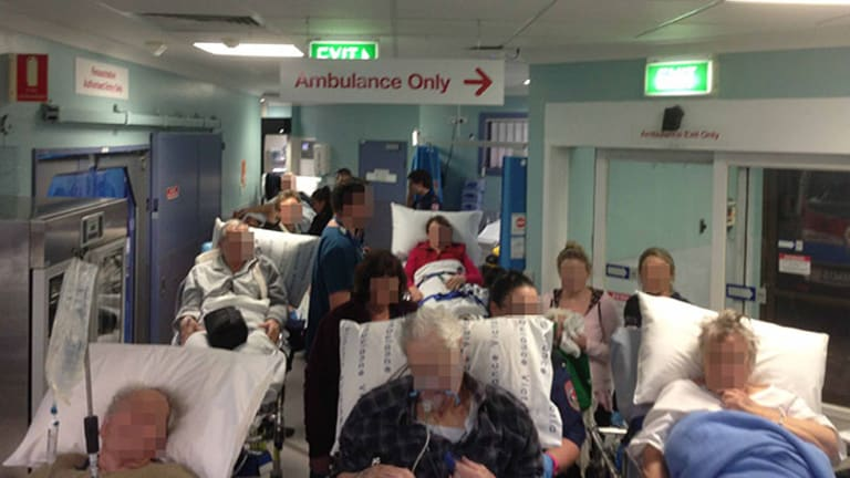 The Paramedics Photograph Of The Emergency Department At Frankston Hospital