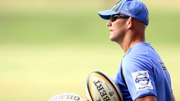 Juggling so many balls . . . John Mitchell wants to coach the Force until the end of the 2011 season.