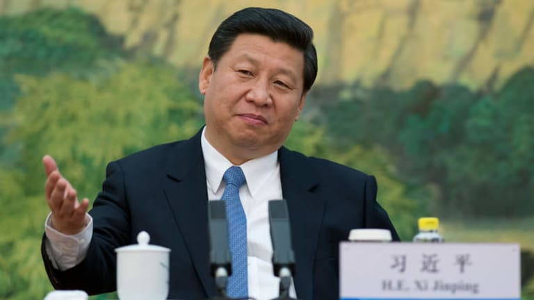 China's newly appointed leader Xi Jinping.