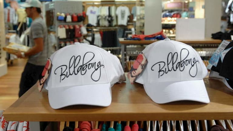 Billabong hopes to sell assets to pay down debt.