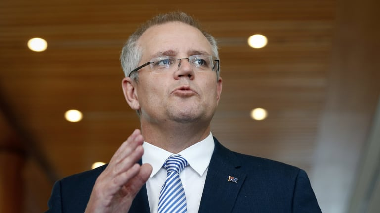 Treasurer Scott Morrison advocated during his days as social services minister a downsizing policy in which people would be encouraged to sell their large homes by having some or all of the proceeds quarantined from the pensions assets test.