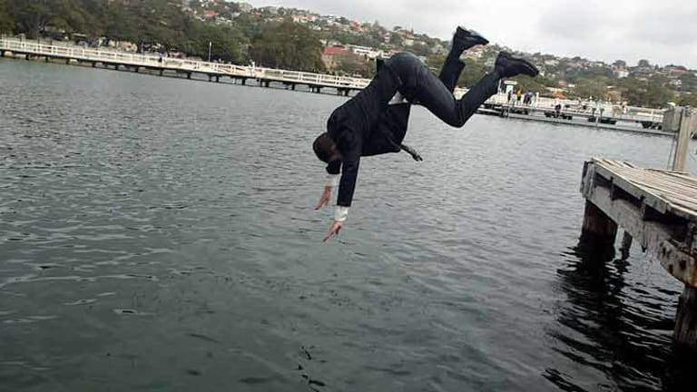 When change forces you to act, sometimes it's worth taking the plunge.