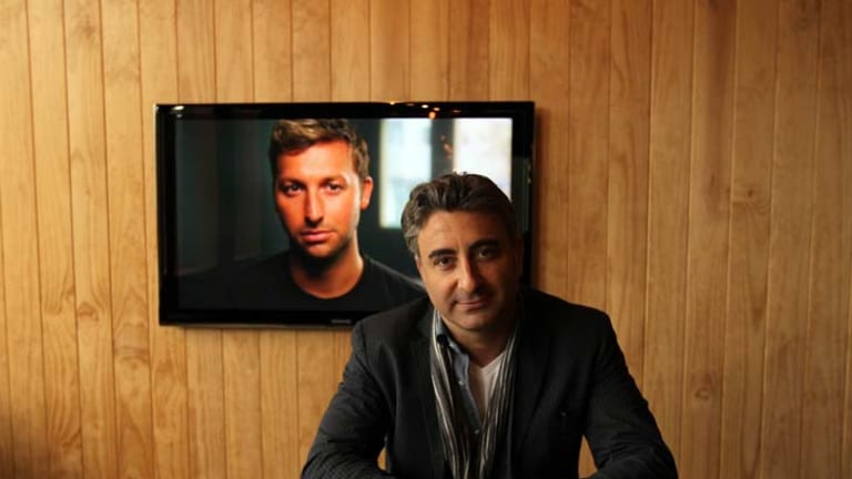 """A fish in water ... Rob Galluzzo says Ian Thorpe has undertaken to be """"very open""""."""