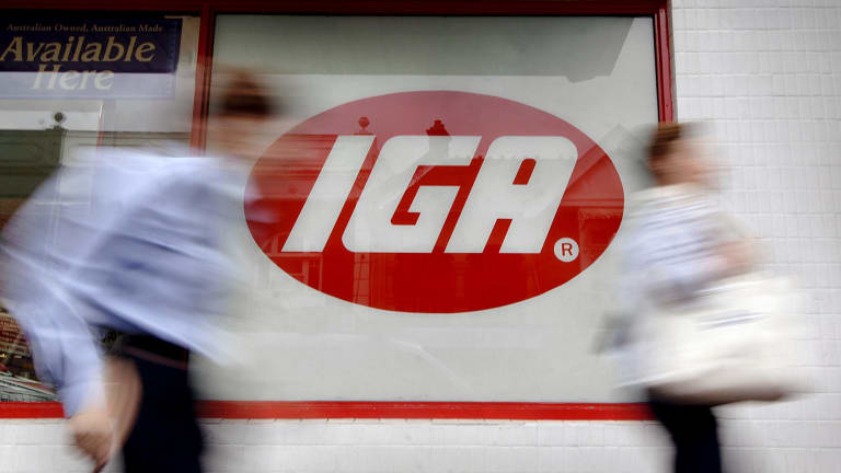 IGA supermarkets have been losing share to Aldi and Coles.