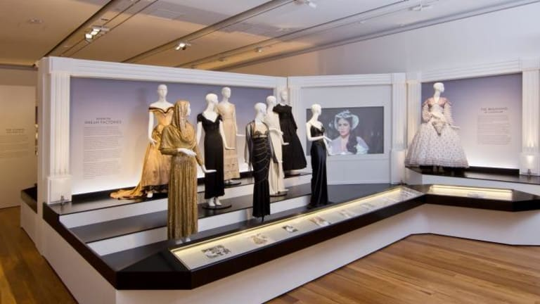Costumes from the Golden Age of Hollywood go on display at the Museum of Brisbane.