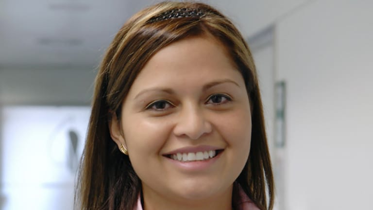 Claudia Castillo, the patient in the ground-breaking operation.