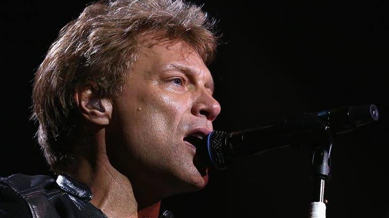 Bon Jovi plays at Brisbane's Suncorp Stadium.
