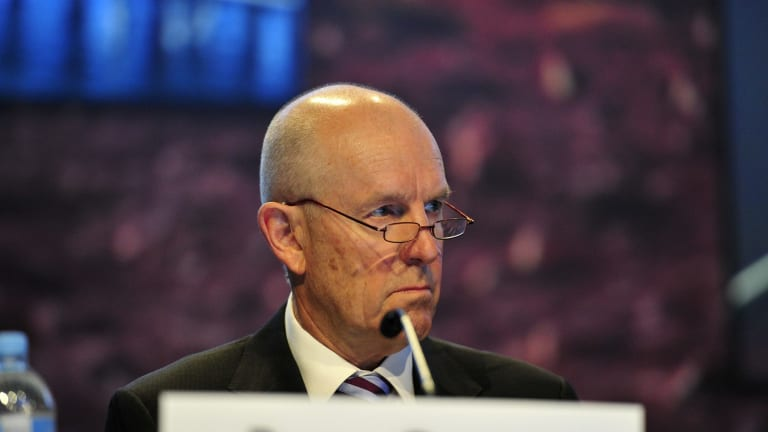 Santos executive chairman Peter Coates says institutional investors supported the rights issue.