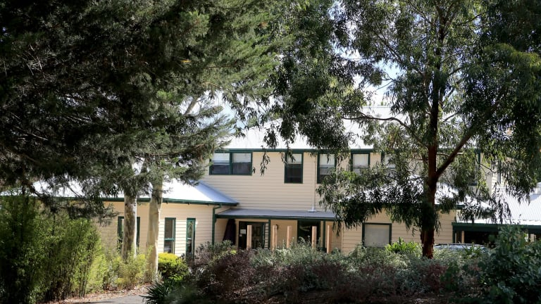 The headquarters of Shiva School of Meditation and Yoga in Mount Eliza.