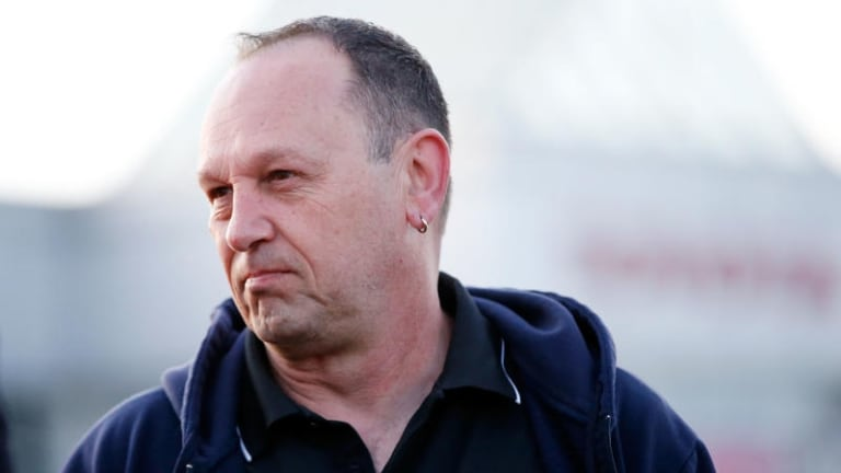 Former Toyota worker Michael Spiteri hopes to find security work.