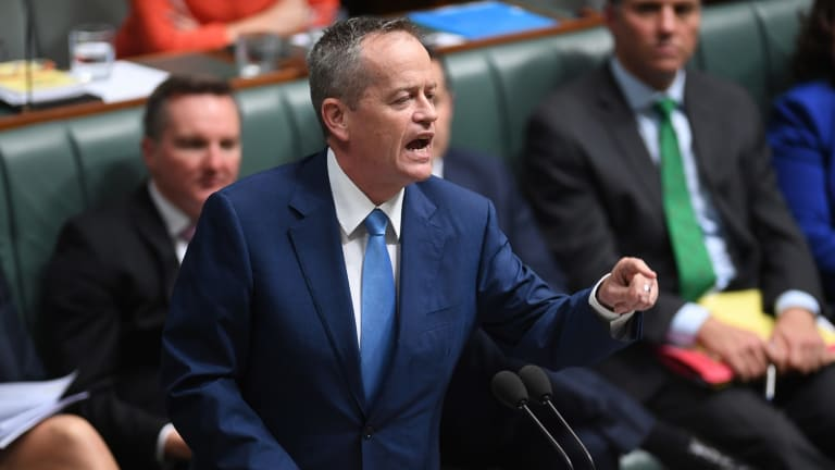 'Already fallen into the deplorables trap': Bill Shorten goads the Prime Minister in parliament about the same-sex marriage plebiscite.
