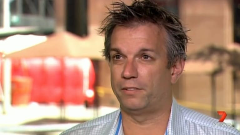 Channel Seven cameraman Greg Parker: He fed his images of the siege back to police headquarters.