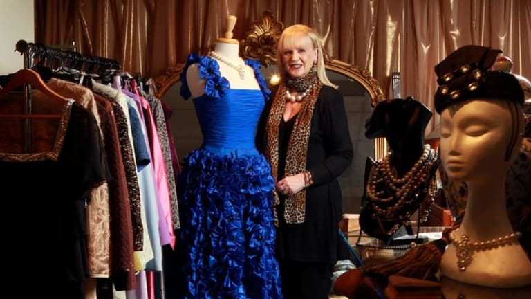 Couturier Shirley Keon is one of the last from her trade still designing and making garments in Melbourne's original garment district on Flinders Lane.