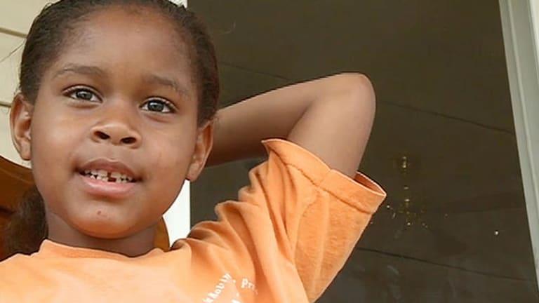 Handcuffed ... Salecia Johnson, 6.