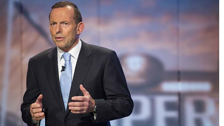 Techspert? Tony Abbott outlines the Coalition's national broadband network.