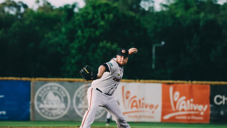 Canberra Cavalry pitcher Frank Gailey has withdrawn from the ABL All Star game after his wife broke her leg in a car accident.