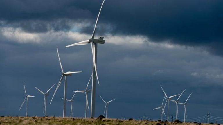 Tilting at turbines.