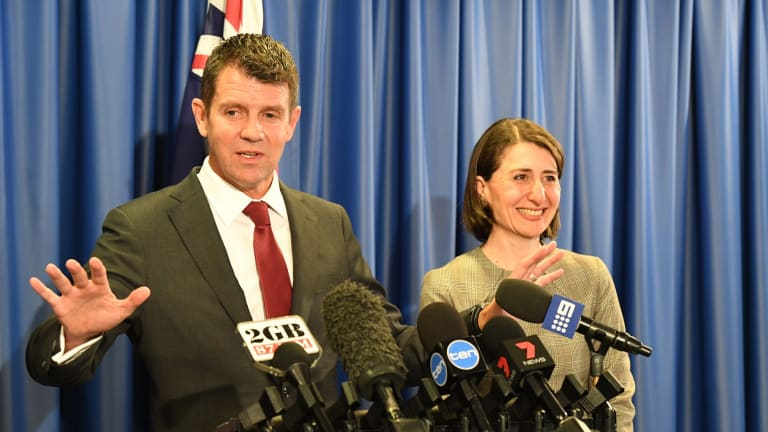 """Announcing the deal with NSW Treasurer Gladys Berejiklian,Premier Mike Baird said the winning bid's unique criterion was """"the 100 per cent Australian ownership""""."""