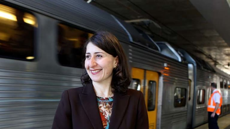 """""""Transport for NSW is undertaking the most fundamental re-write of the rail timetable in a decade to ensure we get the most out of the current network for customers"""" ... Gladys Berejiklian."""