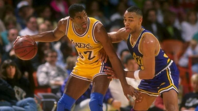 Magic Johnson was the most crucial cog in the Lakers' Showtime machine.
