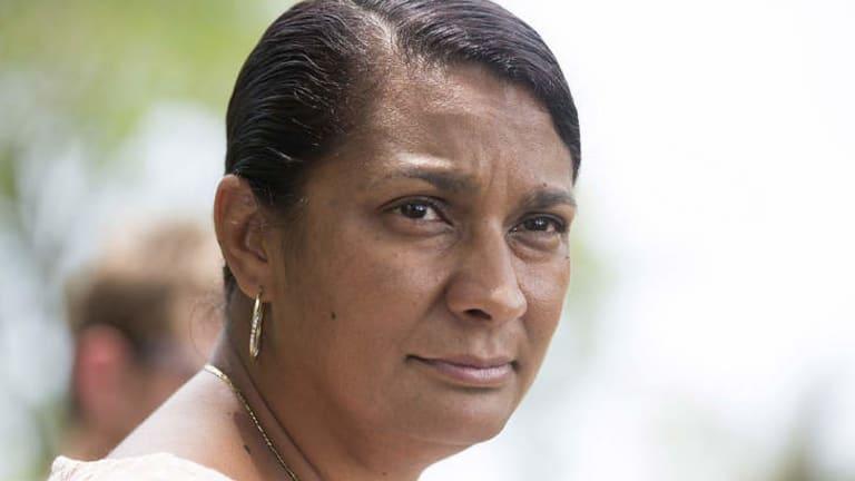 Former Olympian, now Senate candidate hopeful, Nova Peris.