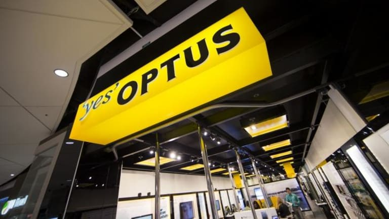 Lucrative contract: Optus.